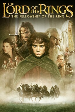 Lord of the Rings, The: The Fellowship of the Ring - Key Art