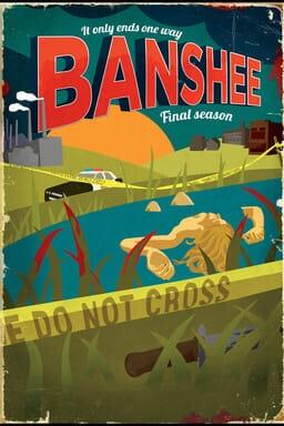 Banshee: Seizoen 4 - Key Art
