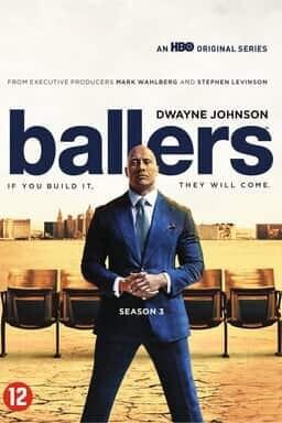 Ballers - Seizoen 3 - Key Art